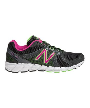 Black & Magenta W750v2 Running Shoe - Women