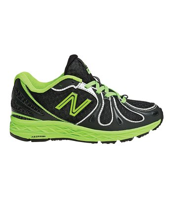 Black & Neon Green KJ890 Running Shoe