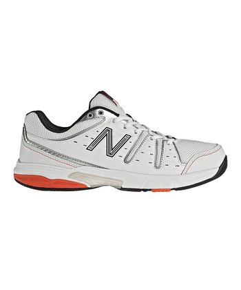 White & Red MC656 Tennis Shoe - Men
