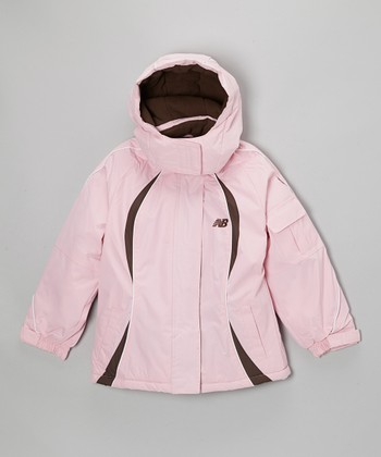 Pink & Black Jacket - Girls