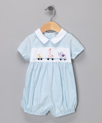 Blue Circus Romper - Infant