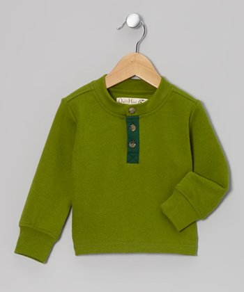 Grass Henley Sweatshirt - Toddler & Kids