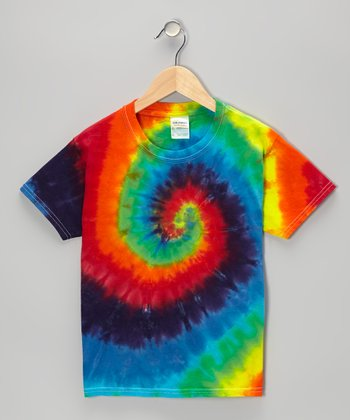 Rainbow Swirl Tie-Dye Tee - Toddler & Kids
