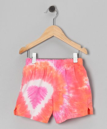 Birds of Paradise Shorts - Toddler & Girls