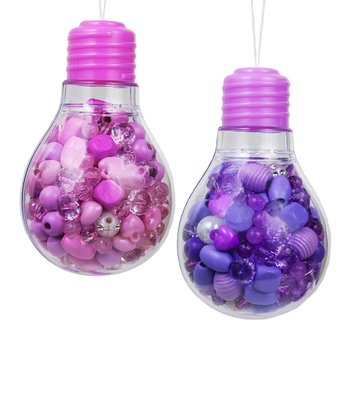Purple Light Bulb Bead Kit