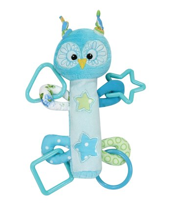 Blue Owl Activity Rattle
