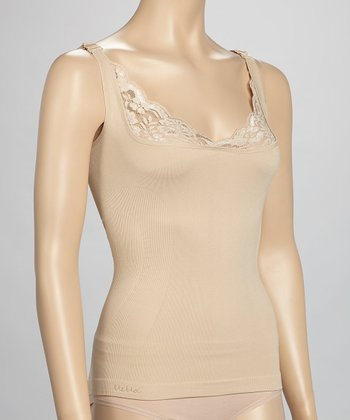 Nude Lace Shaper Camisole - Women