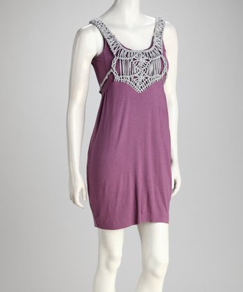 Purple Knot Dress