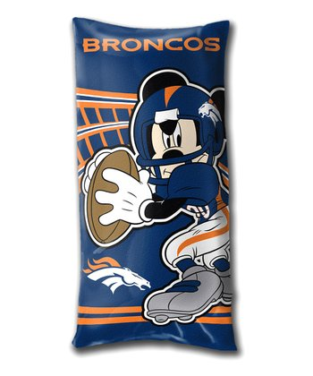 Mickey Mouse Denver Broncos Folding Body Pillow