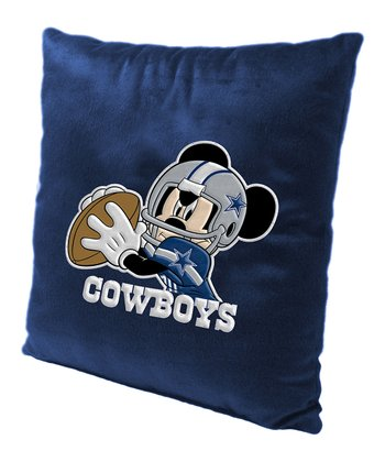 Mickey Mouse Dallas Cowboys Pillow