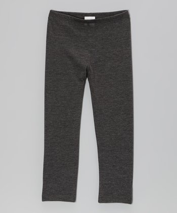 Heather Charcoal Leggings - Toddler & Girls