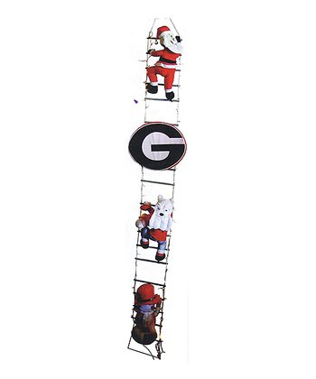 Georgia Santa Ladder Décor