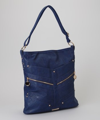 Navy Carrie Hobo