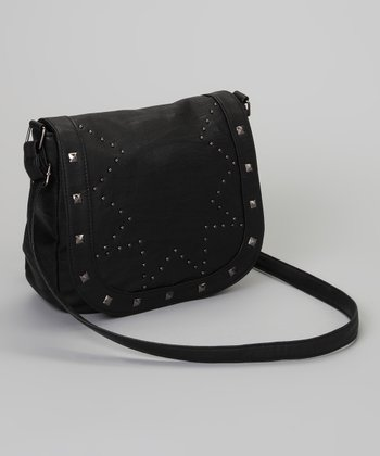 Black Stud Marielle Crossbody Bag