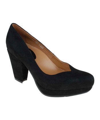 Black Tarnow Suede Pump