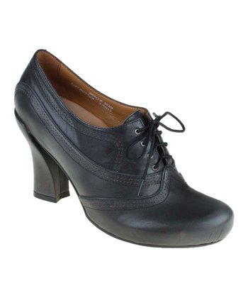 Dark Gray Forteena Oxford