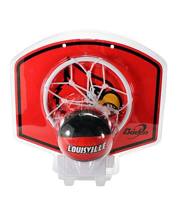 Louisville Basketball Hoop Set