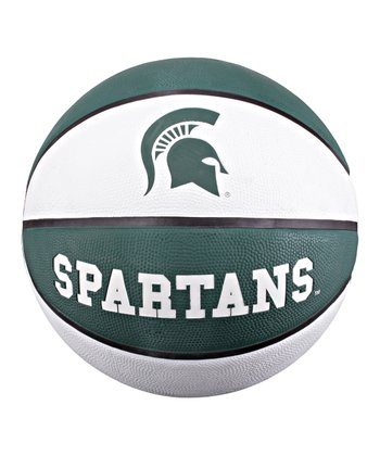 Michigan State 'Spartans' Rubber Basketball