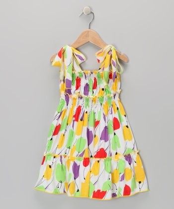 Yellow Tulip Sundress - Toddler & Girls