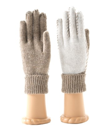 Taupe Kia Wool-Blend Gloves