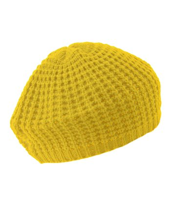 Yellow Piper Beret