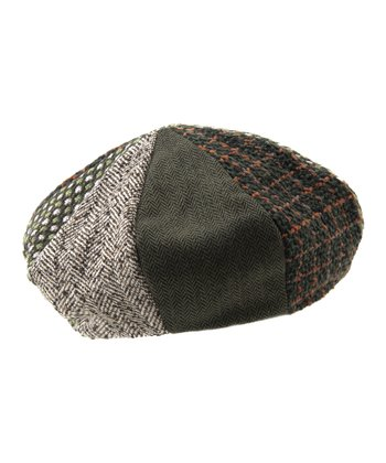 Moss Kourtney Wool-Blend Beret