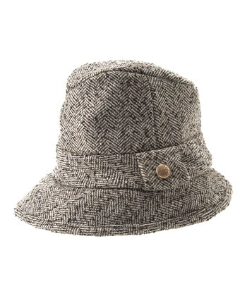 Natural Kim Wool-Blend Bucket Hat