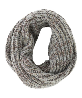 Gray Michigan Infinity Scarf