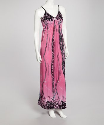 Fuchsia Bibi Maxi Dress