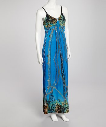Blue Tamica Dress
