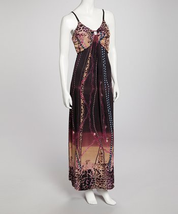 Purple Nakia Maxi Dress