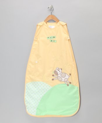 Yellow 'Hey Diddle Diddle' Sleeping Sack - Infant