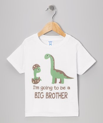 White 'I'm Going to Be a Big Brother' Tee - Toddler & Kids