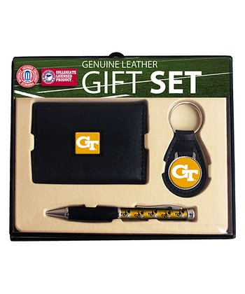 Georgia Tech Wallet Gift Set