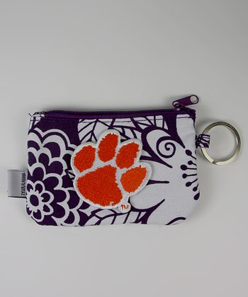 Clemson ID/Coin Purse