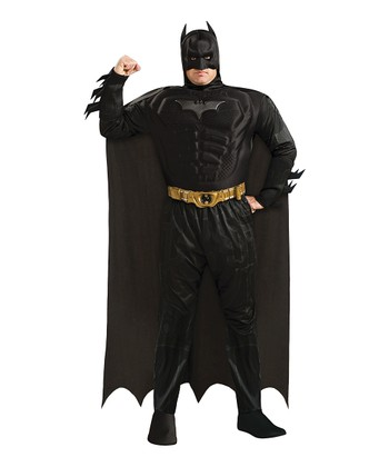 Deluxe Muscle Batman Dress-Up Set - Men