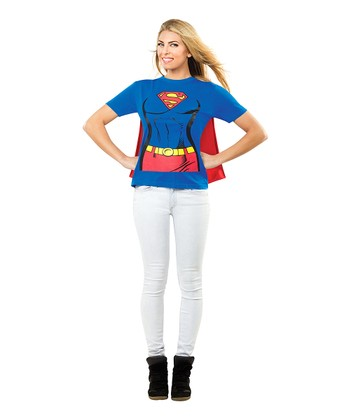 Supergirl Caped Tee - Women