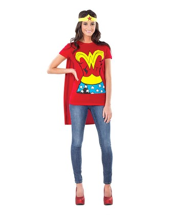 Wonder Woman Tee Dress-Up Set - Women