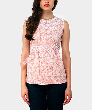 Rose Wiona Ochos Sleeveless Top