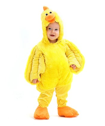 Yellow Dancing Chicken Dress-Up Outfit - Infant & Toddler