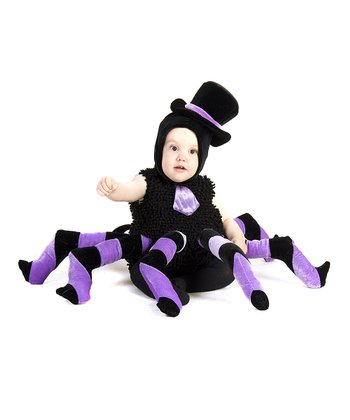 Black Sam the Spider Dress-Up Outfit - Infant