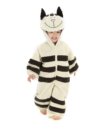 White Corduroy Cat Dress-Up Outfit - Infant, Toddler & Kids