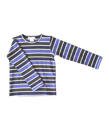 Blue Stripe Long Sleeve Tee - Infant, Toddler & Boys