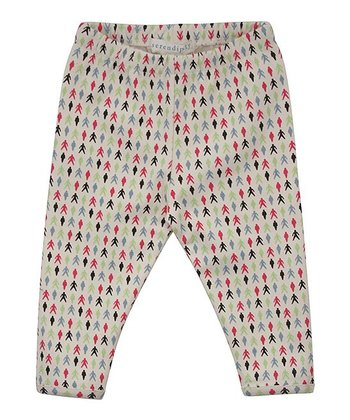 Ecru People Leggings - Infant