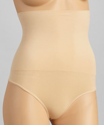 Nude Seamless Shaper High-Waist Thong - Women