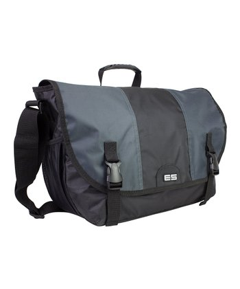 Graphite Laptop Messenger Bag