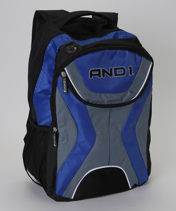 Blue & Gray AND1 Backpack