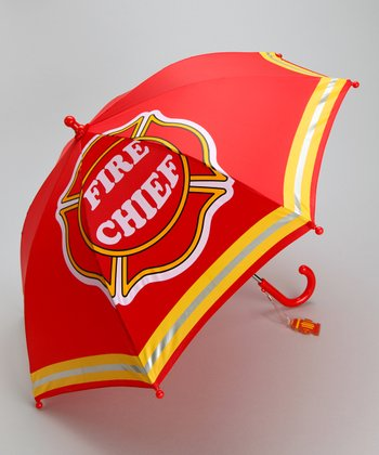 Red Fire Chief Umbrella