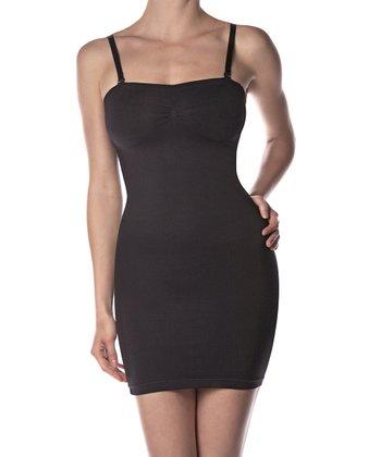 KnowMe Black Shaper Full-Body Slip - Women
