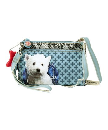 Blue West Highland White Terrier Wristlet
